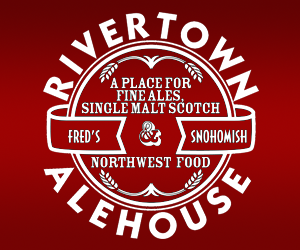 Fred's Rivertown Alehouse was established in July of 1994 by Jay & Vicki Meacham, Bill Astley, and Kurt Meacham. The Alehouse, the former Fred's Tavern, is located @ 1114 First Street in historic downtown Snohomish, WA.