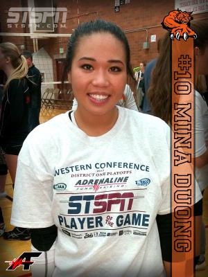 Mina Duong - Player of the Game