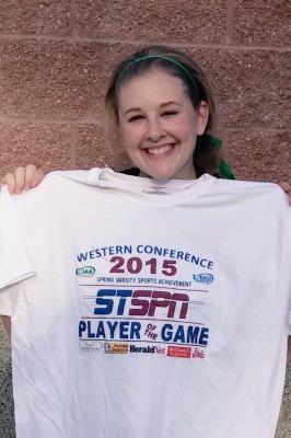 Sophie Frost - Player of the Game