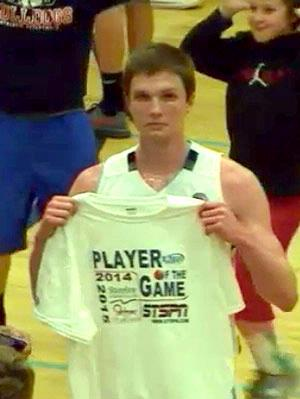 Jacob Argue - Player of the Game