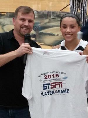 Jordyn  Edwards - Player of the Game