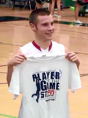 Josh Thayer - Player of the Game