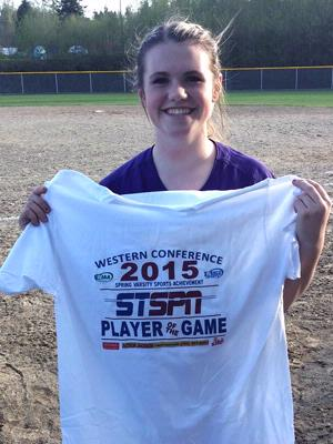 Mariah Woolery - Player of the Game