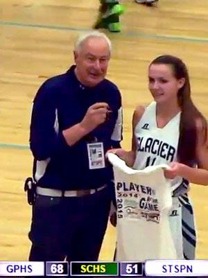 Sadie  Mensing - Player of the Game