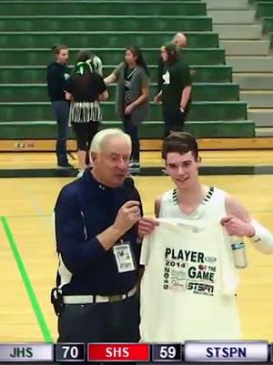 Sam Saufferer - Player of the Game