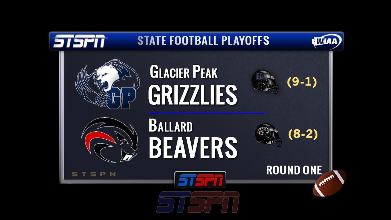 Ballard Beavers at Glacier Peak Grizzlies State Football