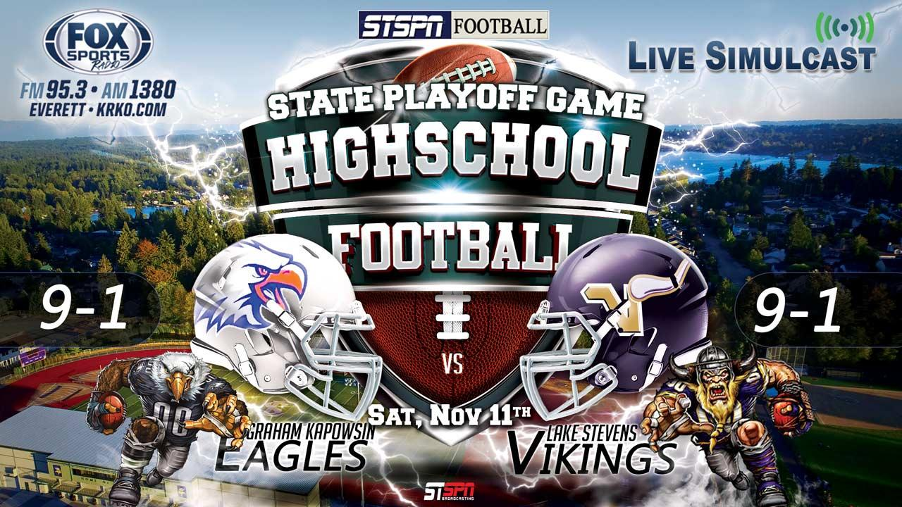 Eagles at Vikings State Football