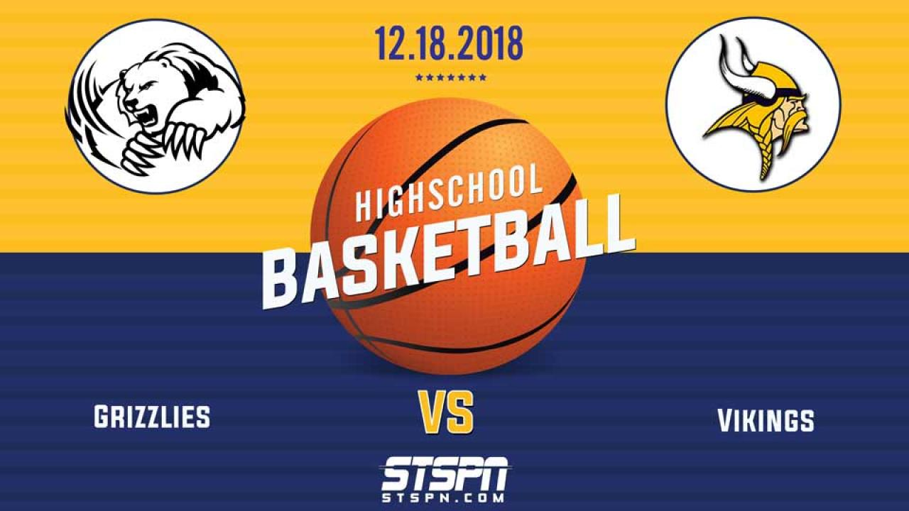 BASKETBALL: Vikings at Grizzlies