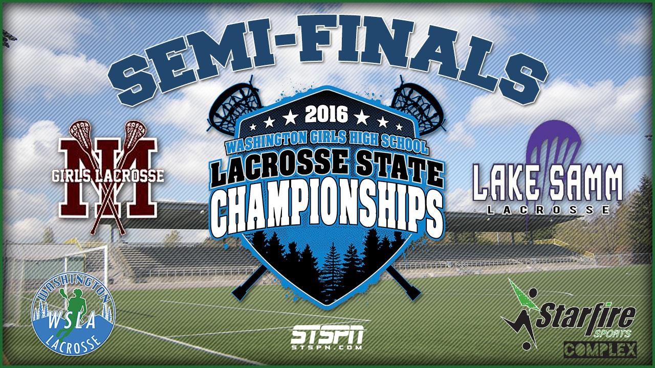 Girls Lacrosse State Semi-Finals 2016 GM1