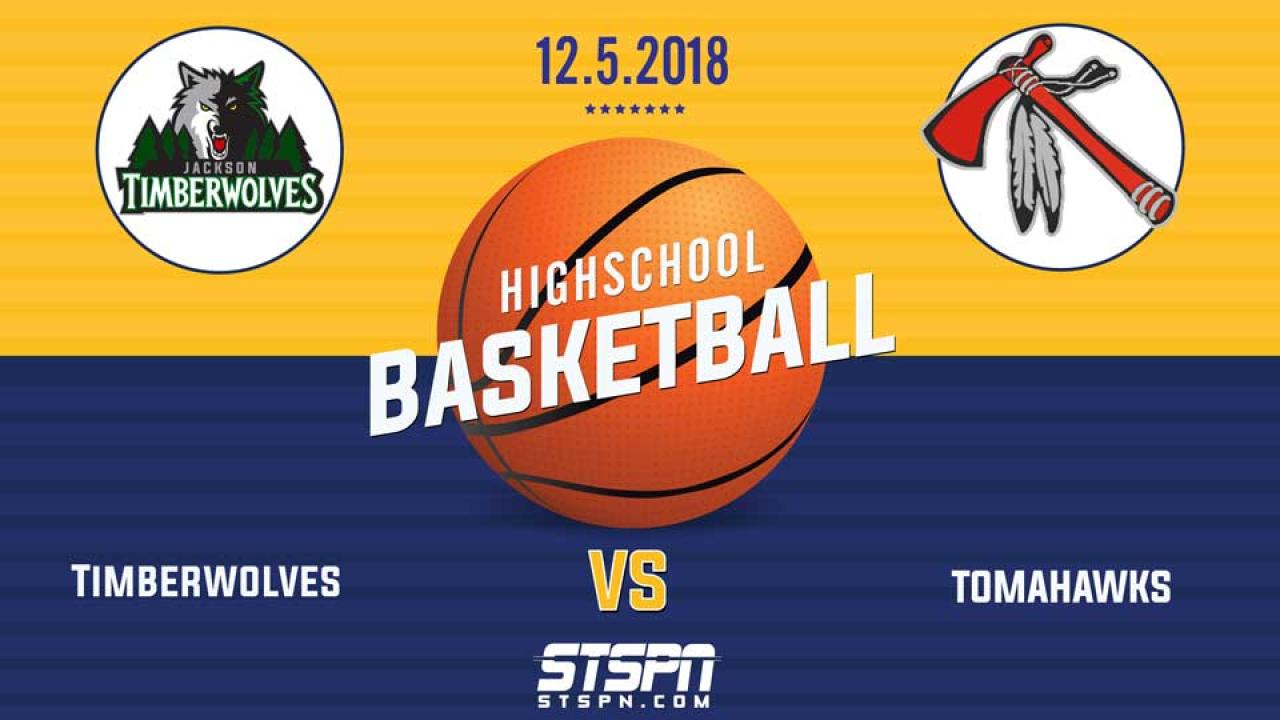 BASKETBALL: T-Wolves vs Tomahawks